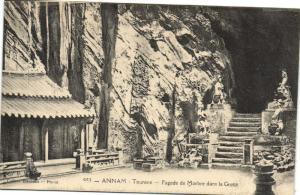 CPA Vietnam Indochine ANNAM Tourane - Pagode de Marbre dans la Grotte (62124)