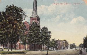 DEFIANCE, Ohio, PU-1910s; Wayne And Third Street