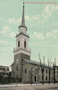 EASTON , Pennsylvania, PU-1908 ; First Reformed Church