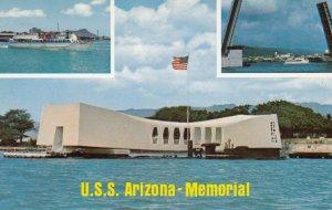 HONOLULU, Hawaii, 50-60s; U.S.S. Arizona-Memorial, Machado's Pearl Harbor Cru...