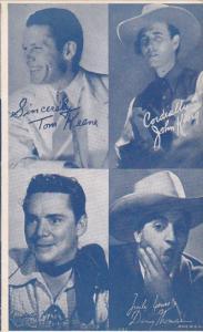 Cowboy Arcade Card Tom Keene John King Duane Hodges Danny Thomas