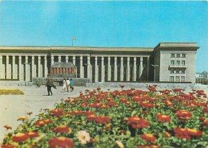 Mongolia Postcard Ulan Bator Mausoleum Sukhbaatar Khorlogiyn Choibalsan tomb