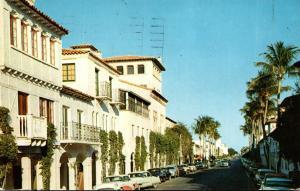 Florida Palm Beach Worth Avenue Shopping District 1961