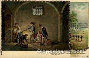 Leiut. Moody, Sussex, May 1780 American History Unused light tab marks from b...
