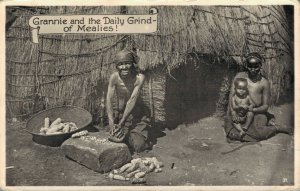 Africa Grannie and the Daily Grind of Mealies! Native 04.26