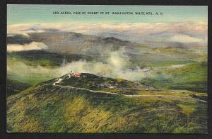 Birds-Eye View Mt Washington Summit White Mountains New Hampshire Unused c1930s