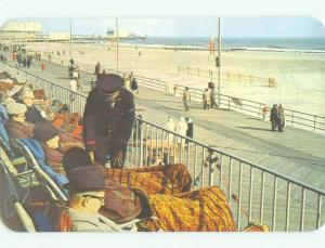 Pre-1980 BOARDWALK AT MARLBOROUGH HOTEL Atlantic City New Jersey NJ hr5848