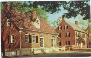 Christoph and John Vogler Houses Old Salem Winston-Salem, NC, Chrome