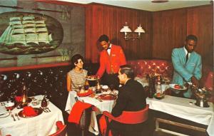 RICHMOND VA JOHN MARSHALL HOTEL & CAPTAIN'S GRILL RESTAUANT LOT OF 2 POSTCARDS