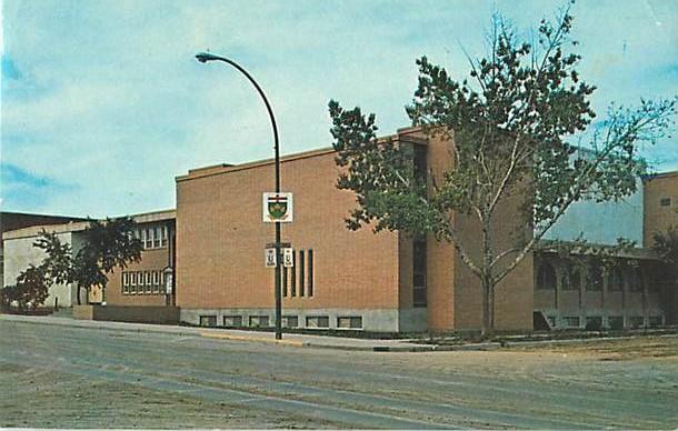 United Church Kindersley Saskatchewan SK Canada 1972