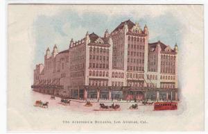 Auditorium Los Angeles California 1905c postcard