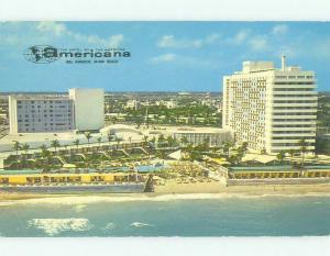 Pre-1980 AMERICANA HOTEL Miami Beach Florida FL HQ0427