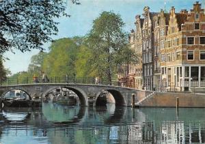 Netherlands Amsterdam Prinsengracht Pont River Bridge