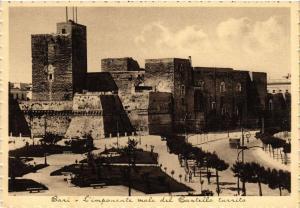 CPA AK BARI L'imponente mole del Castello turrito. ITALY (531775)