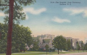 DURHAM , North Carolina , 30-40s ; The Hospital , DUKE University