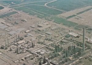 Aerial view of Syncrude Processing Plant, Fort McMurray, Alberta,  Canada,  5...