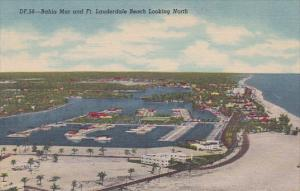 Florida Fort Lauderdale Bahia Mar And Fort Lauderdale Beach Looking North Cur...