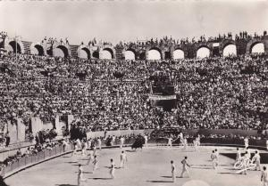 RP; ARLES, Inside of the Arena during the Provincial Races (Concarde d'Or) Bo...