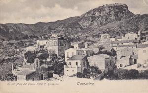 TAORMINA , Sicilia , Italy , 00-10s : castel Mola dal Palace Hotel S. Domenico