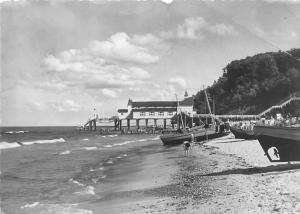 Seebad Sellin Seebruecke Schiff, Boats Beach Sea Bridge Plage