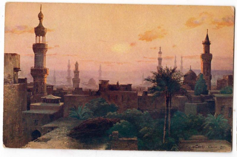 Cairo in the morning by Le Caire au matin