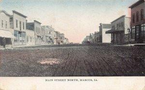 LPS60 MARCUS Iowa Main Street North Town View Postcard