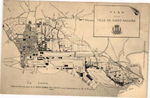 CPA Plan - Ville de St-NAZAIRE - La Loire (222885)