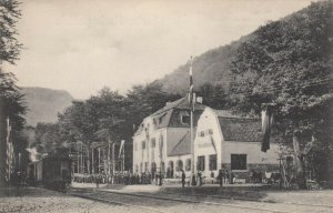 Thale, Harz district , Saxony-Anhalt ,Germany, 00-10s ;Train at railroad Station
