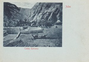 Tanks Entrance , Aden , Yemen , 1890s