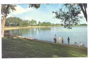 The beautiful parkland, Henderson Lake, Lethbridge,  Alberta,  Canada, 40-60s