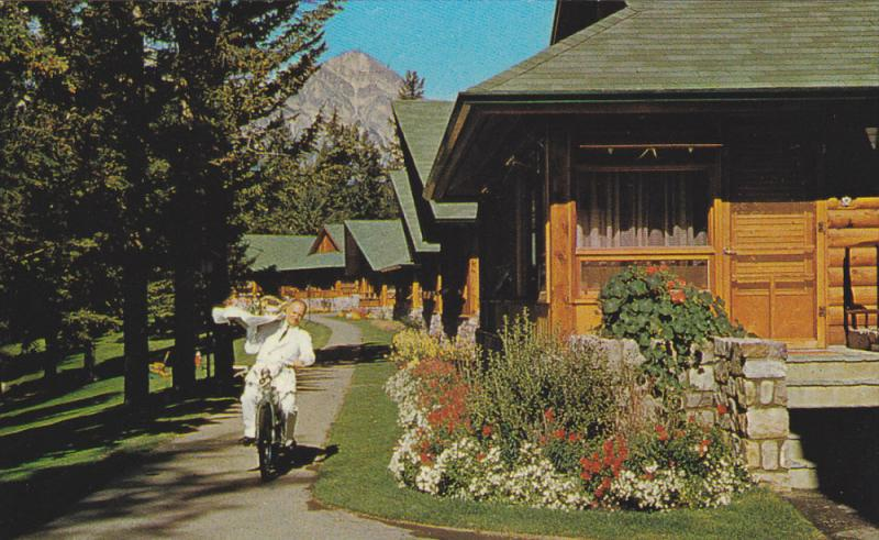 JASPER, Albert, Canada, 1940-1960's; Waiter at Bungalows of the Lodge, and Py...