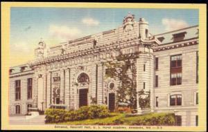 Annapolis, Md., U.S. Naval Academy, Bancroft Hall (1940s)