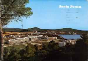 Spain Mallorca (Baleares) Santa Ponsa General view Panorama
