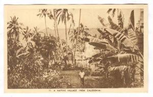 A Native Village (New Caledonia), 1910s