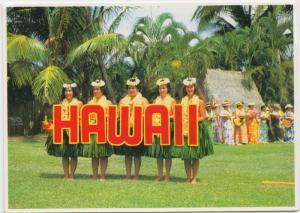 HAWAII, Kodak Hula Show, Waikiki Shell, Kapiolani Park, unused Postcard