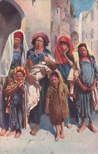 Algeria Alger Natives in Costume