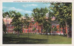 Wisconsin Prairie du Chien Main Building Prairie du Chien Sanitarium