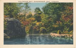 Half Moon Bay at Gananoque, Ontario, Canada - Linen