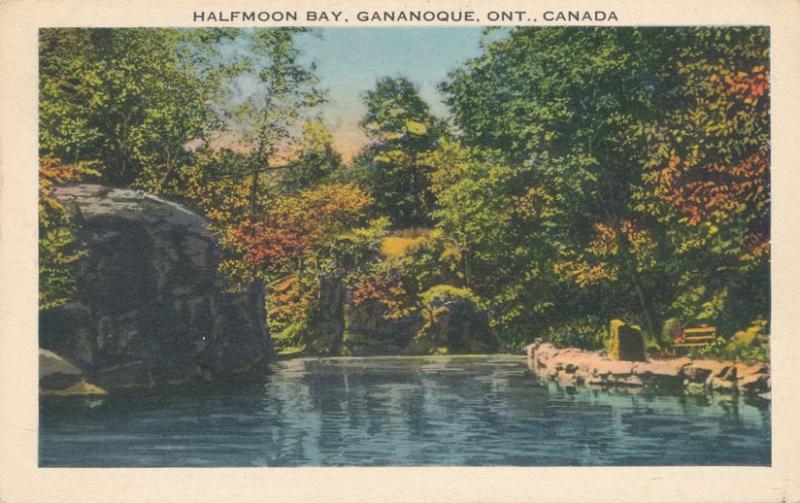 Half Moon Bay at Gananoque, Ontario, Canada - Linen