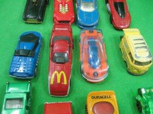 Vintage Lot of Twenty (20) Toy Cars Various Styles & Colors Hot Wheels McDonalds