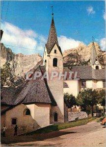 Postcard Modern Dolomiti S Vito di Cadore m 1010 della Chiesa M della Difesa