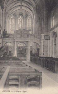 ARQUES, France, 1910-1920s, La Nef de l'Eglise