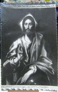 Spain Toledo Museo del Greco Jesus by Greco - unposted