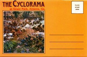 Folder - GA. Atlanta. The Cyclorama (2 breathtaking panoramic views, 21.75 X...