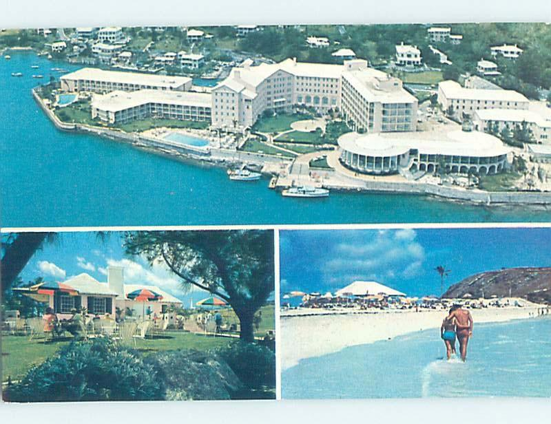 Unused Pre-1980 PRINCESS HOTEL Hamilton Bermuda F6233-13