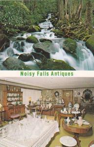 2-Views, Noisy Falls Antiques, Gatlinburg, Tennessee, PU-1973