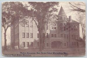 Warrensburg Missouri~State Normal School~Dockery Gymnasium~c1905 Standard Herald