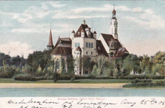 Illinois Chicago German Building Jackson Park