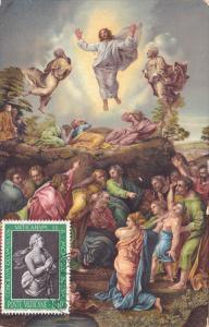 Stamp & Postcard ; La Trasfigurazione , 00-10s postcard PU-1963