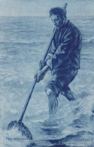 The Shrimper - ISRAELS , 1900-10s ,  TUCK 6727